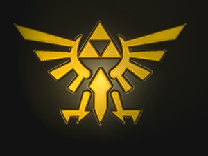 Triforce Emblem by AnonymousLink Nintendo releases trailer for... a book!