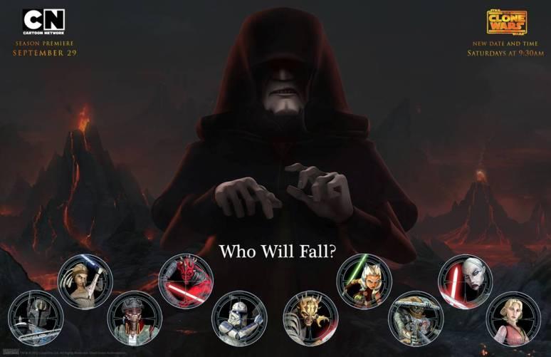 Star Wars The Clone Wars Ahsoka Age Clone Wars Star Wars Season 5