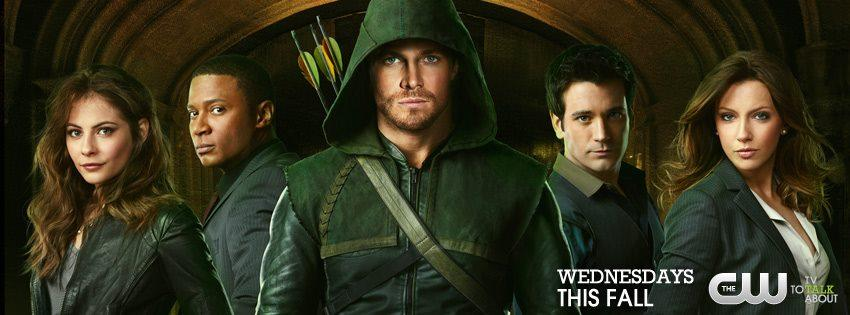 arrow character banner