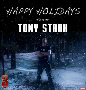 happy holidays iron man 3