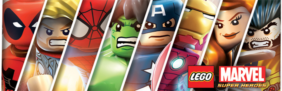 Lego Marvel Superheroes Slider