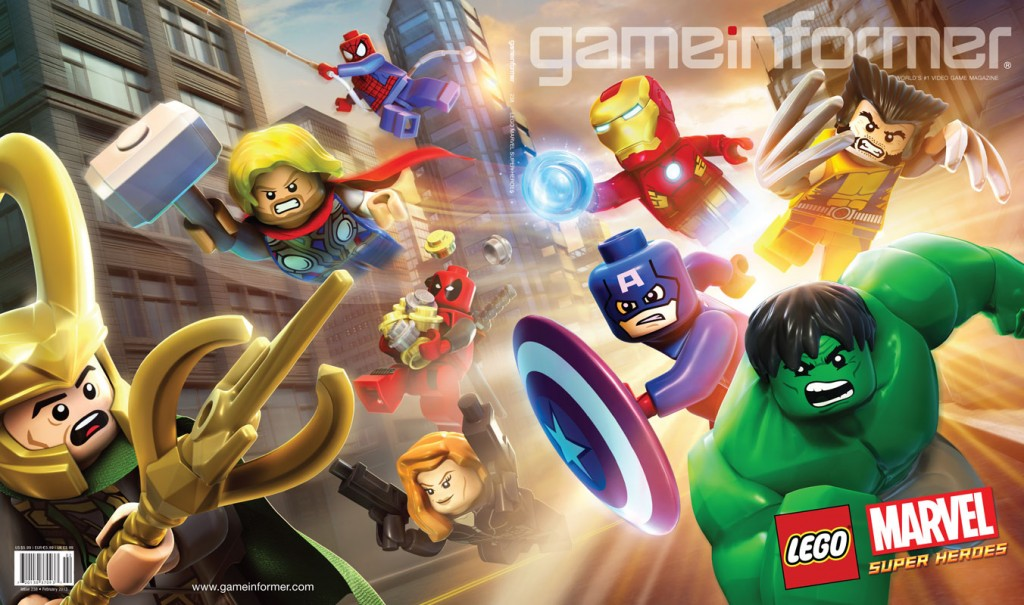 game informer Marvel LEGO