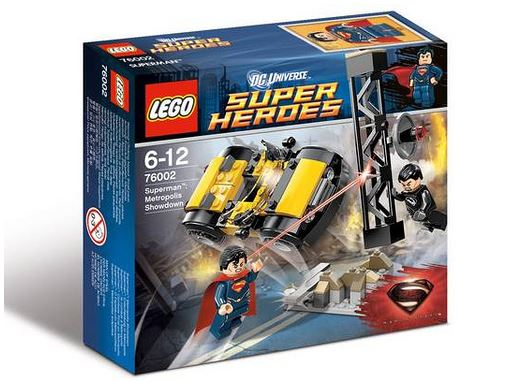man of steel LEGO 1