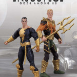 Injustice Aquaman Black Adam 2 pack action figures