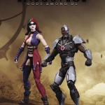 Injustice Harley Quinn Cyborg 2 pack action figures