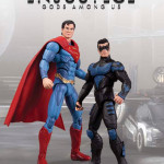 Injustice Superman Nightwing 2 pack action figures