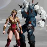 Injustice Wonder Woman Solomon Grundy 2 pack action figures