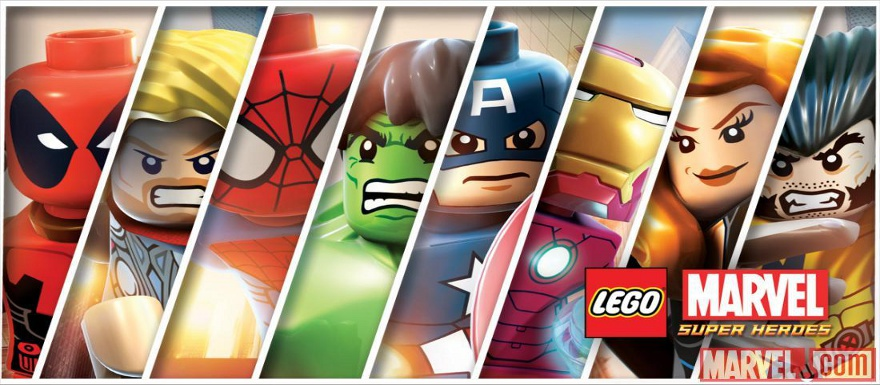 LEGO Marvel Sliders