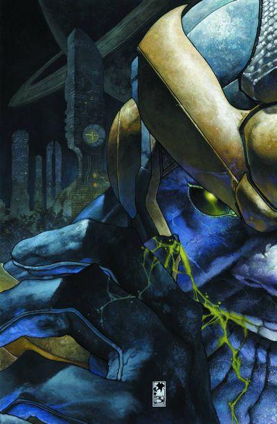 Thanos Rising 1 Cover