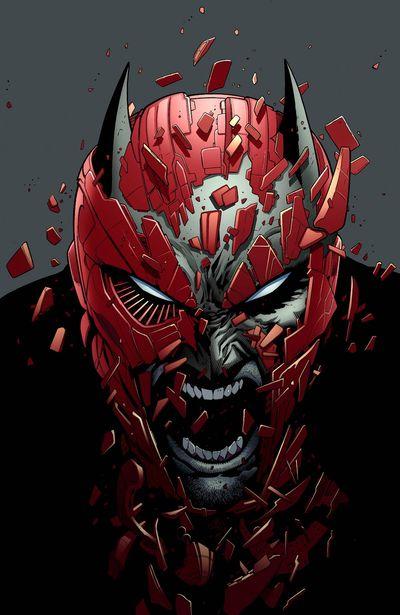 Batman Red Hood Cover