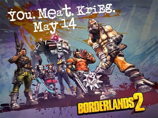 Krieg the Psycho Bandit Borderlands 2