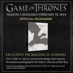 GAme of Thrones Season 3 box art