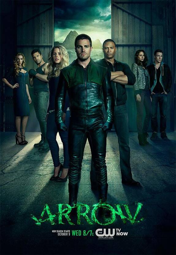 Arrow Season 2 Poster CW