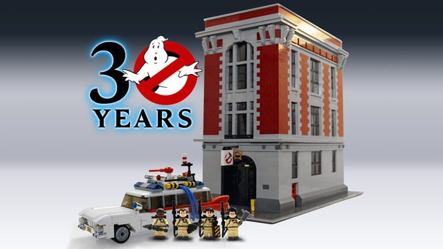 Ghostbusters Lego full