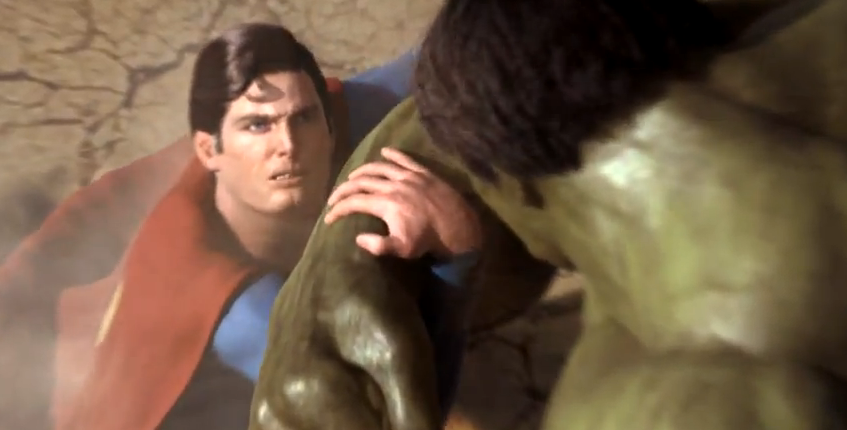Superman vs Hulk Habjan