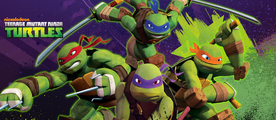 TMNT cartoon slider