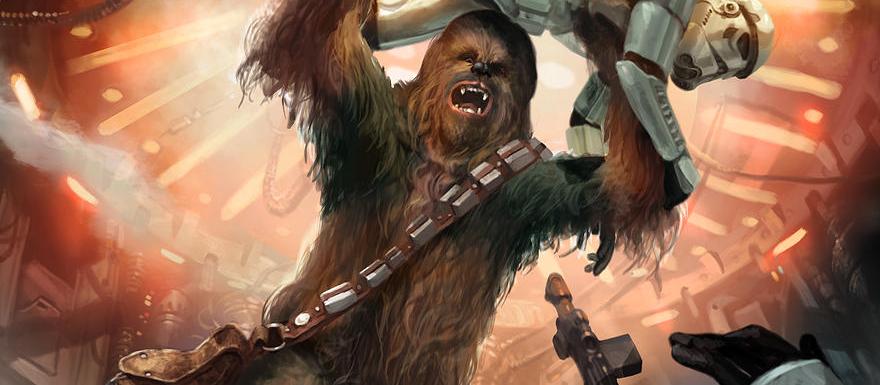 Chewbacca Slider