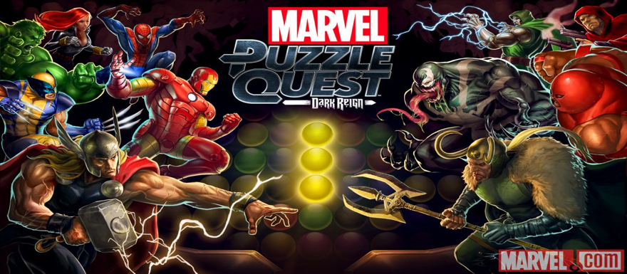 Marvel Puzzle Quest slider