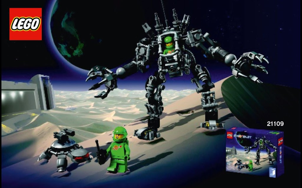 Exo Suit LEGO Ideas