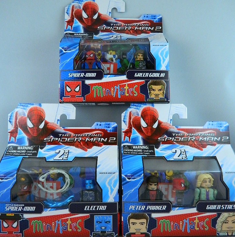 Minimates Spider Man Review Amazing Spider Man 2 Minimates