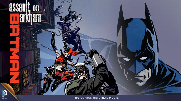 Batman Assault on Arkham banner
