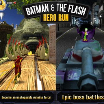 Batman The Flash Hero Run