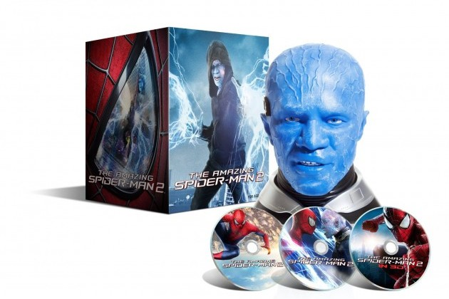 amazing spider-man 2 collectors edition blu-ray