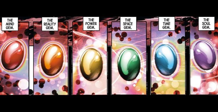 Infinity Stones gems