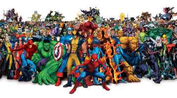 Marvel Universe slider