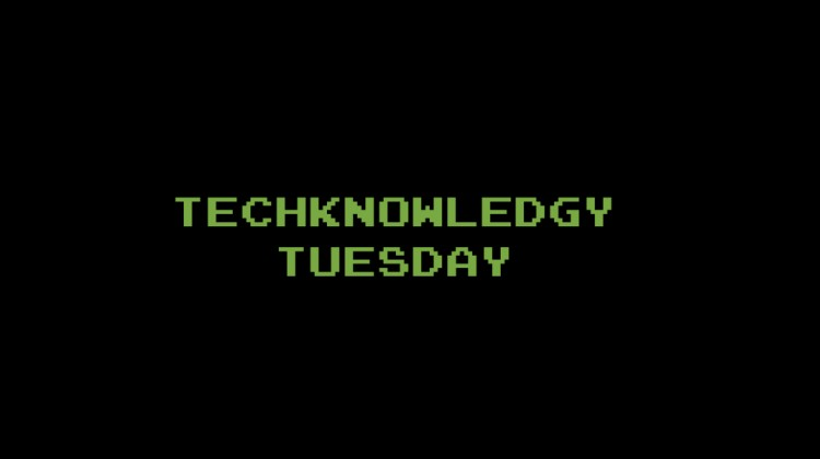 TECHKNOWLEDGY TUESDAY SLIDER 1