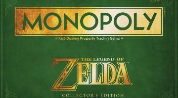 Zelda Monopoly Logo