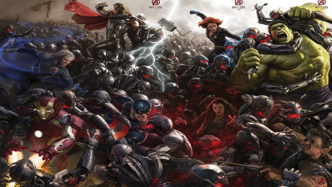 Avengers Age of Ultron Banner esque