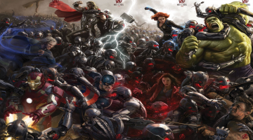 Avengers Age of Ultron Banner esque