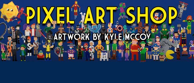 Pixel Art Shop slider