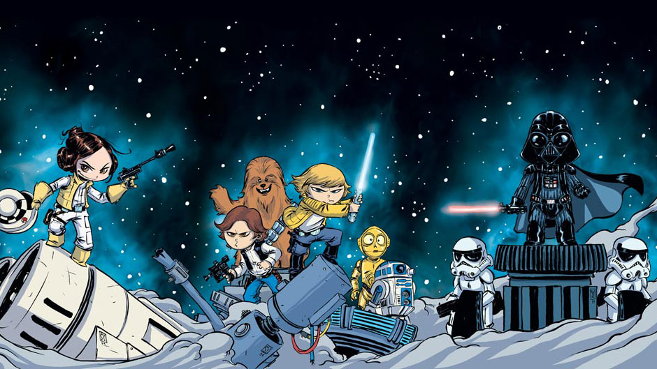 Star Wars #1 Skottie Young slider