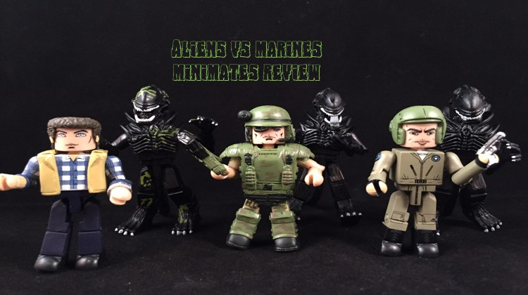 Aliens vs Marines Minimates review
