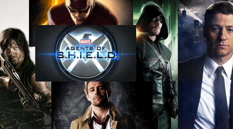 comic book television shows