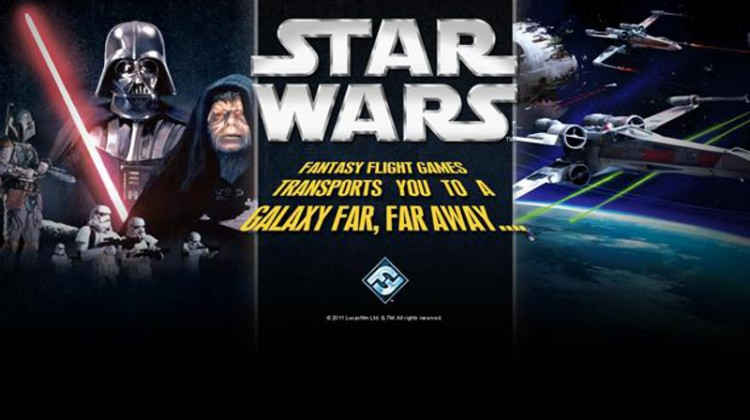 Fantasy Flight Games Star Wars slider