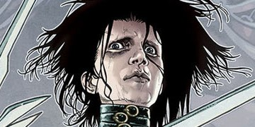 edward scissorhands comic slider
