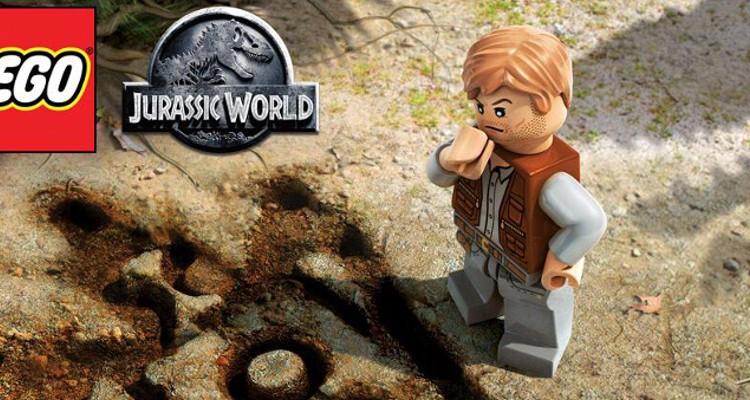 Jurassic World LEGO Slider