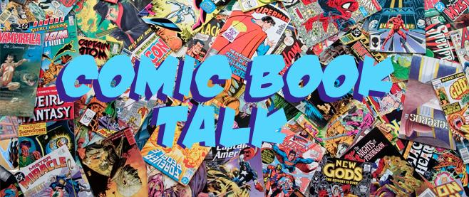 Comic Book Talk slider