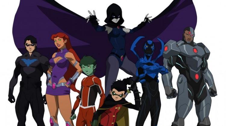Teen Titans Slider