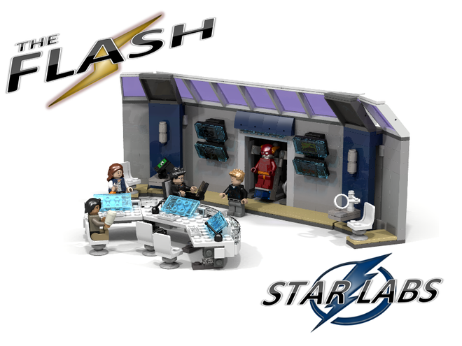 The Flash LEGO Ideas 01